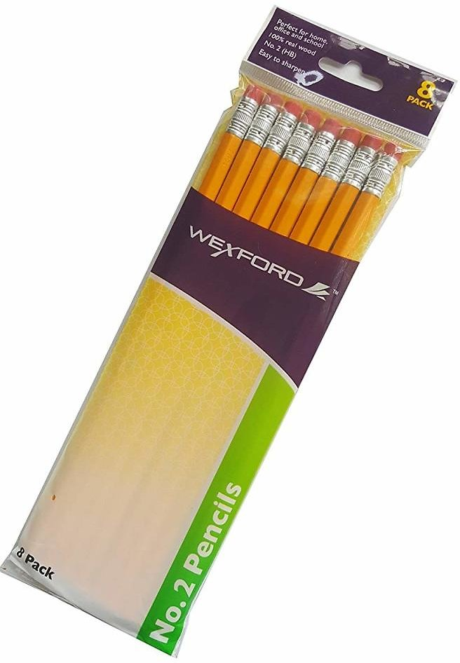 Wexford No. 2 Yellow Pencils (In Store)