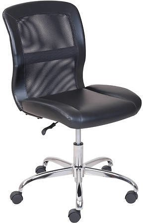 Mainstays Vinyl and Mesh Task Chair + Ships Free