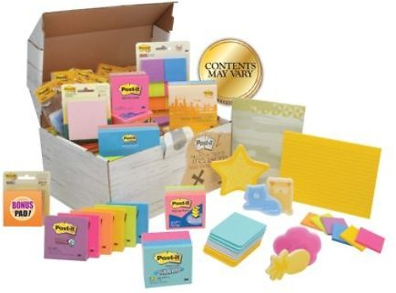 Post-it® Treasure Chest Of Notes, Assorted Colors