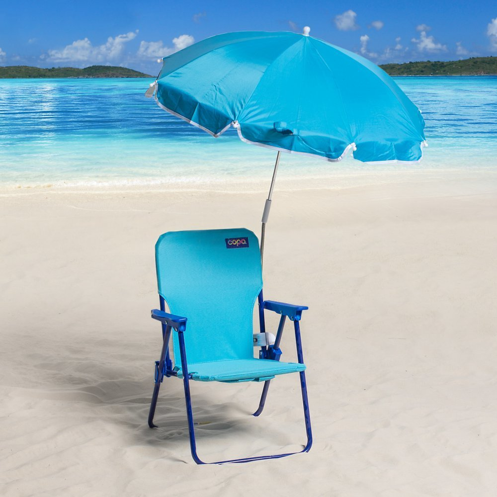 Kids Backpack Beach Chair with Umbrella