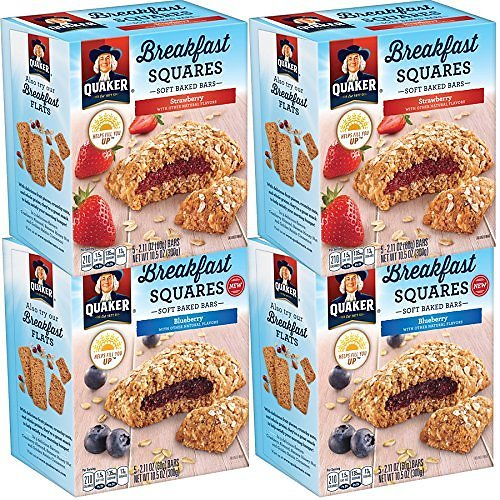 20-Count Quaker Breakfast Squares Variety Pack