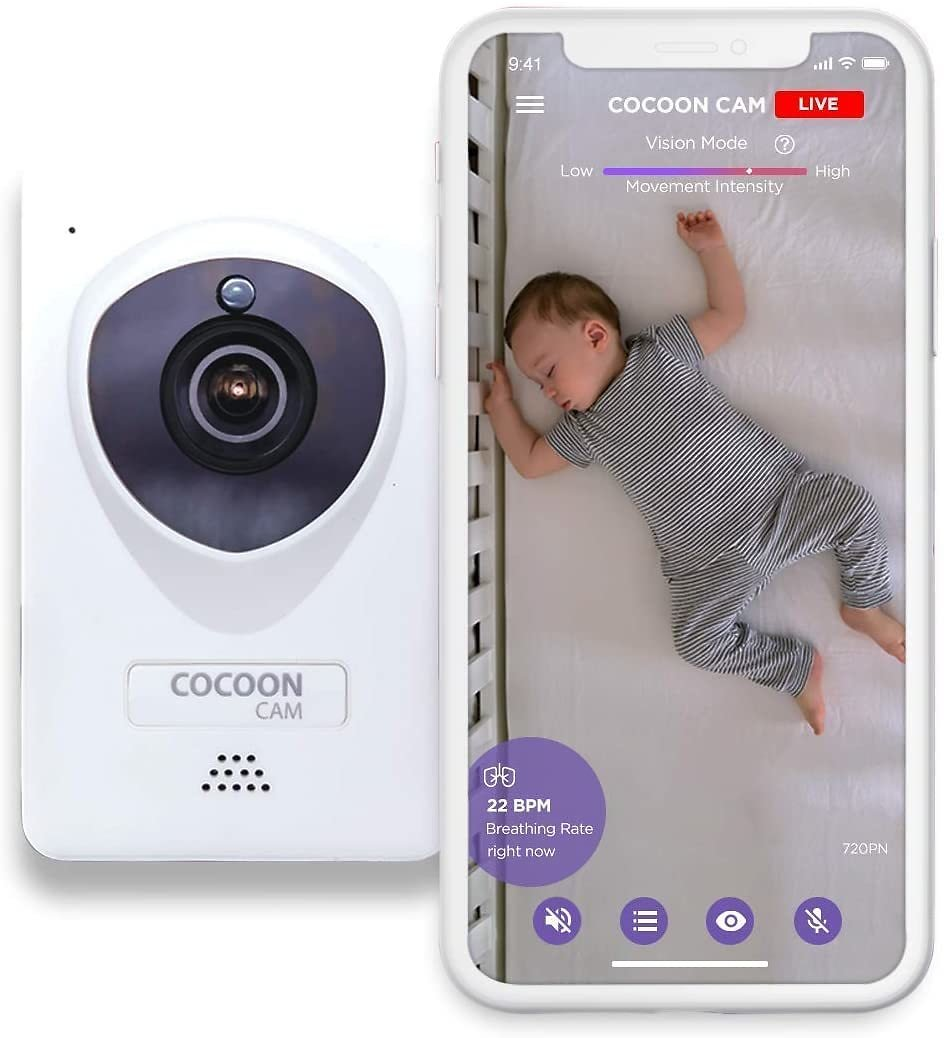 Cocoon Cam Plus Baby Breathing and Video Monitor 2018 Version