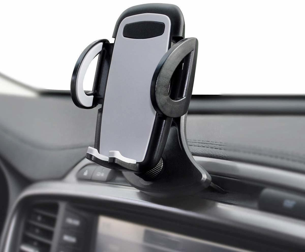 (Only $9.85) Universal CD Slot & Air Vent Car Phone Holder Cradle Mount for iPhone Samsung Other Cell Phones