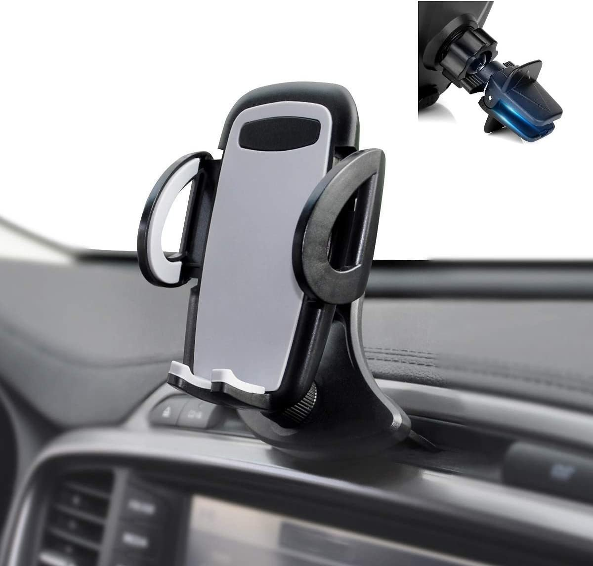 (Only $9.34) Universal CD Slot & Air Vent Car Phone Holder Cradle Mount for iPhone Samsung Other Cell Phones