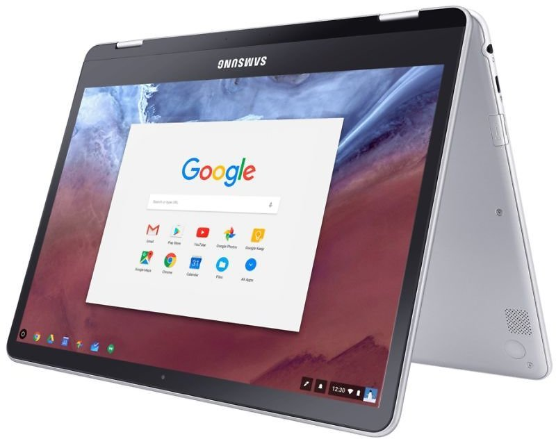 Samsung Chromebook Plus Laptop 12.3 Quad HD Touch Screen ARM Cortex A72Quad Cortex A53 4GB Memory 32GB EMMC Google Chrome OS By Office Depot & OfficeMax