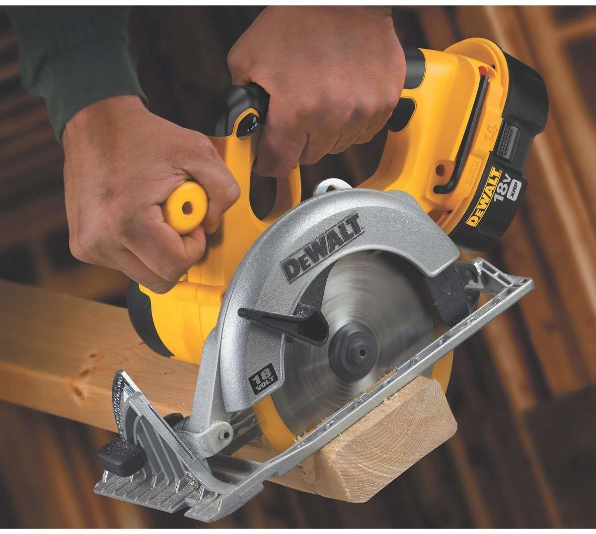 (Ships Free) DEWALT Bare-Tool DC390B 6-1/2-Inch 18-Volt Cordless Circular Saw (Tool Only, No Battery)