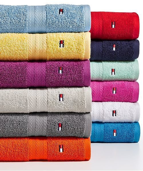 Tommy Hilfiger All American II Cotton Hand Towel (multiple Colors)