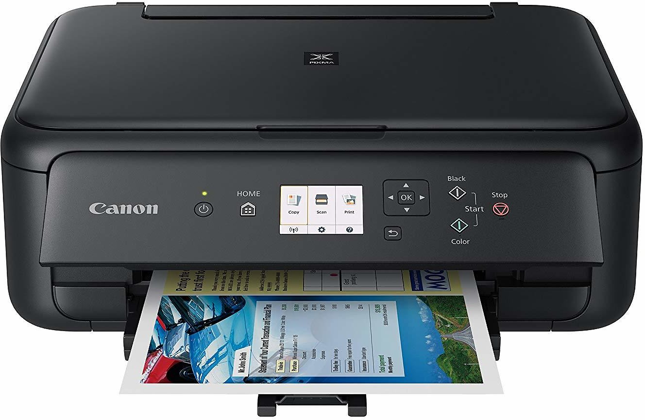 Canon TS5120 Wireless All-In-One Printer with Scanner and Copier: Mobile and Tablet Printing, Black