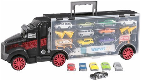22-Piece Kid Connection Big Rig Carrying Case