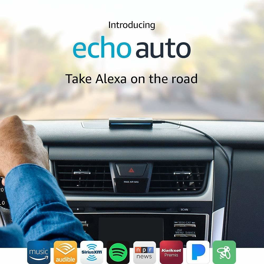 Introducing Echo Auto - The First Echo for Your Car