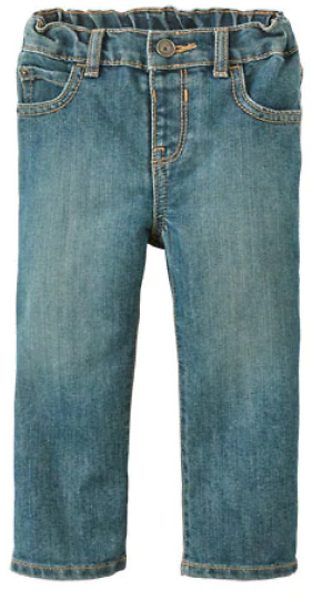 (Ships Free) Baby And Toddler Boys Basic Bootcut Jeans - Tide Pool Wash
