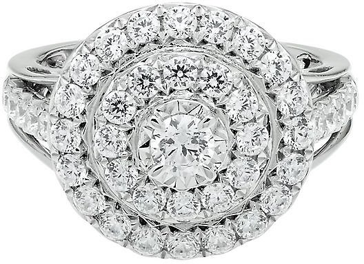 1 1/2 CT. TW. DIAMOND ENGAGEMENT RING IN 10K WHITE GOLD 2317424 Was: $3,999.00 Now: $2,699.00
