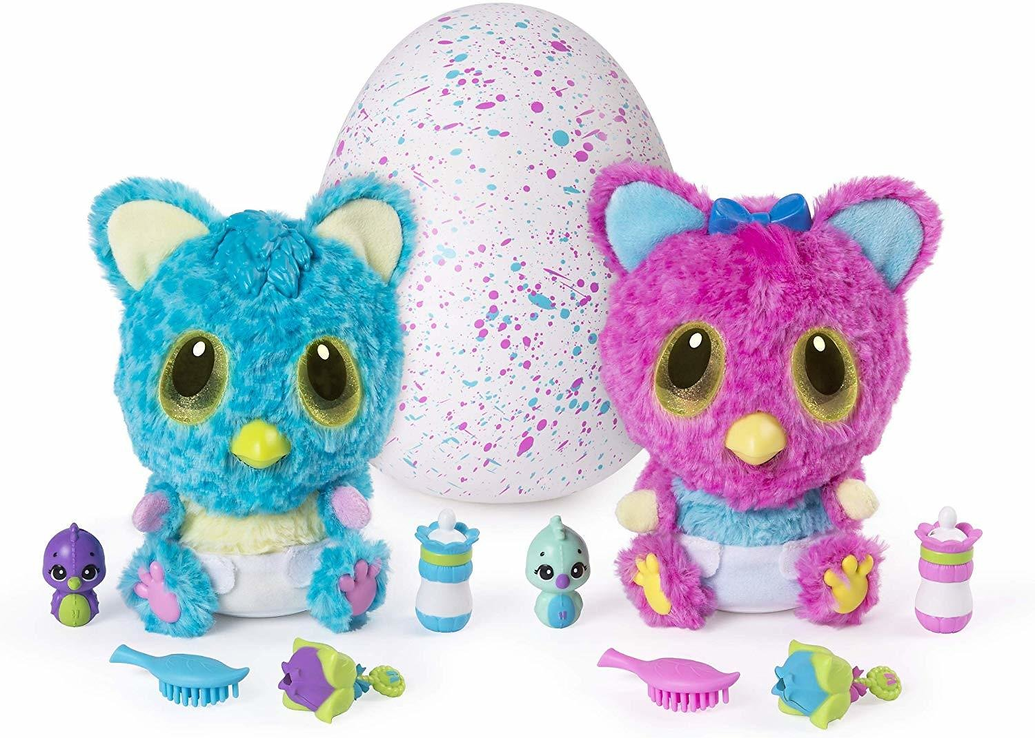 Hatchimals, HatchiBabies Cheetree, Hatching Egg with Interactive Pet Baby (Styles May Vary), for Ages 5 and Up