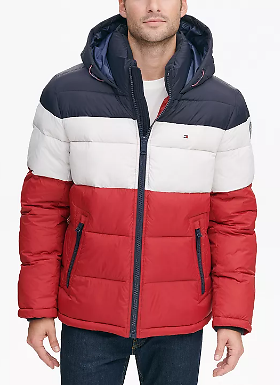 Tommy Hilfiger Quilted Puffer (Mult. Colors)