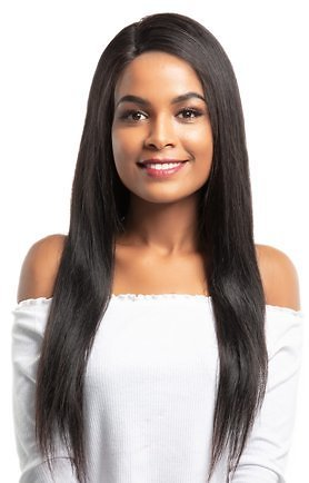 Dolago 13x6 Lace Front Human Hair Wigs 250% Density Straight 10
