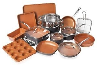 Gotham Steel 20-Pc. Cookware and Bakeware Set Home