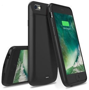 IPhone 8 7 6S 6 Plus High Capacity Protective Battery Case 5000/7200 MAh