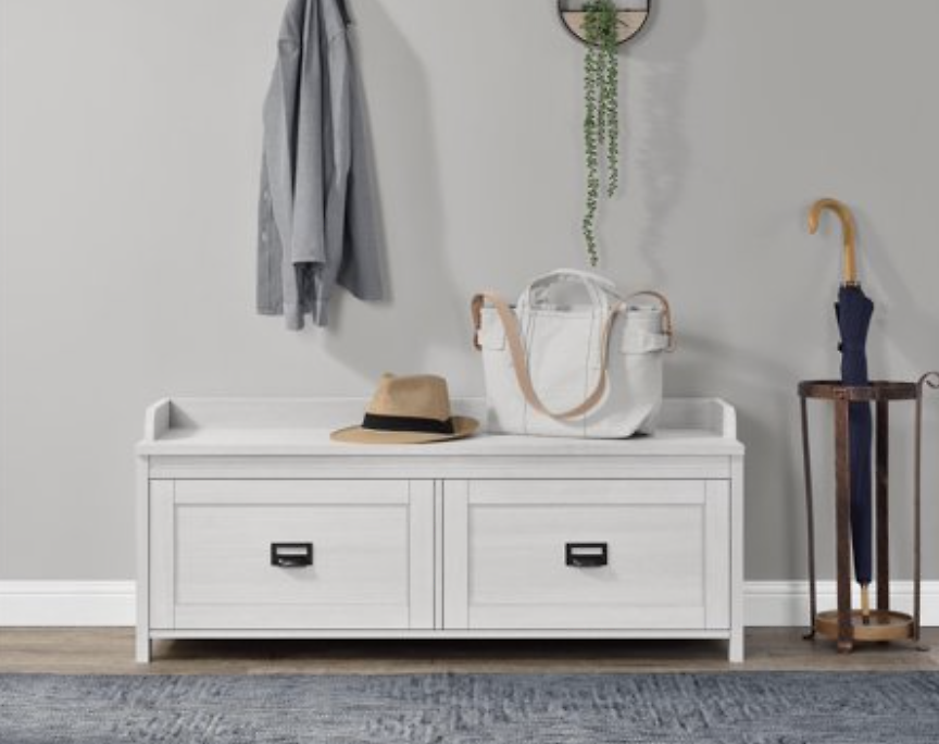 Better Homes & Gardens Georgia Entryway Storage Bench