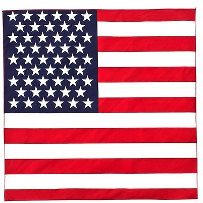 Great Deals! Bandana / American Flag / Fourth of July, To Ensure You Receive a High Quality Bandana, Be Sure to Order from FLORI
