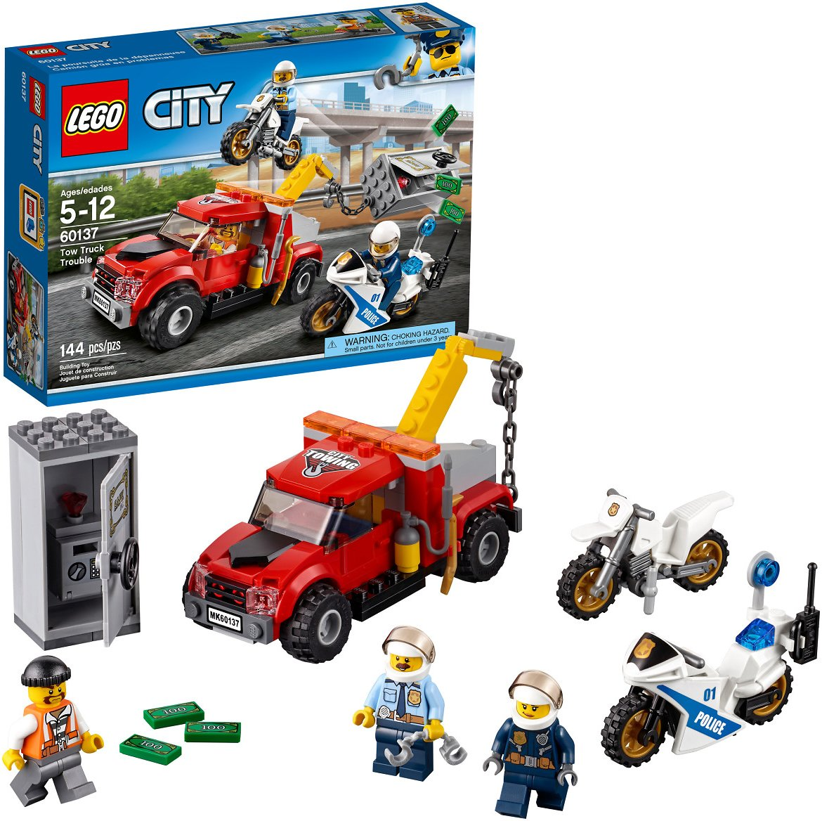LEGO® City Police Tow Truck Trouble 60137