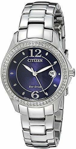 Citizen Women's Eco-Drive Silhouette Crystal Watch with Date, FE1140-86L