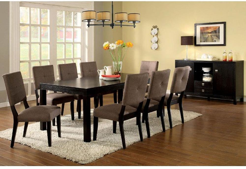 Furniture of America IDF-3311T Bay Side I Espresso Dining Table