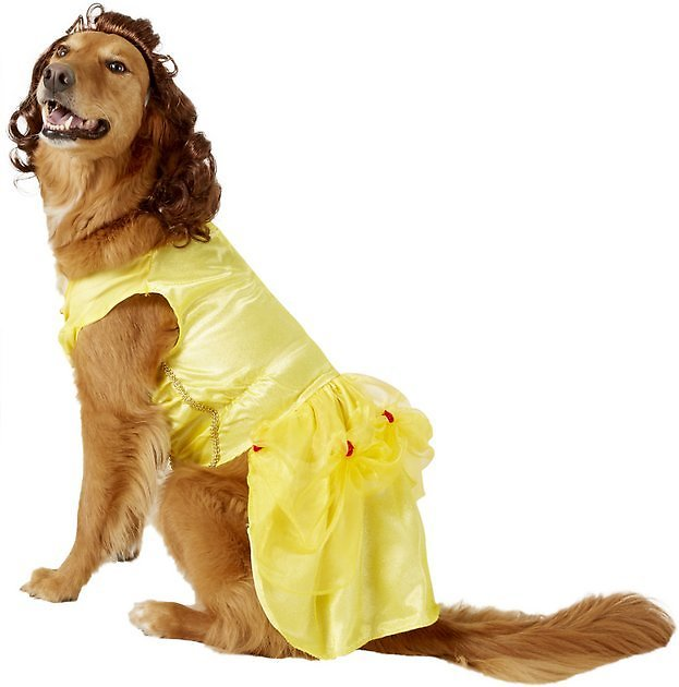 Rubie's Costume Company Belle Disney Princess Dog & Cat Costume