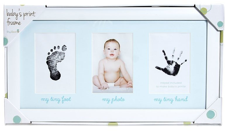 Baby's Print Photo Frame