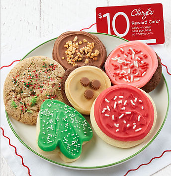 Free $10 Reward Card w/ Holiday Cookie Sampler