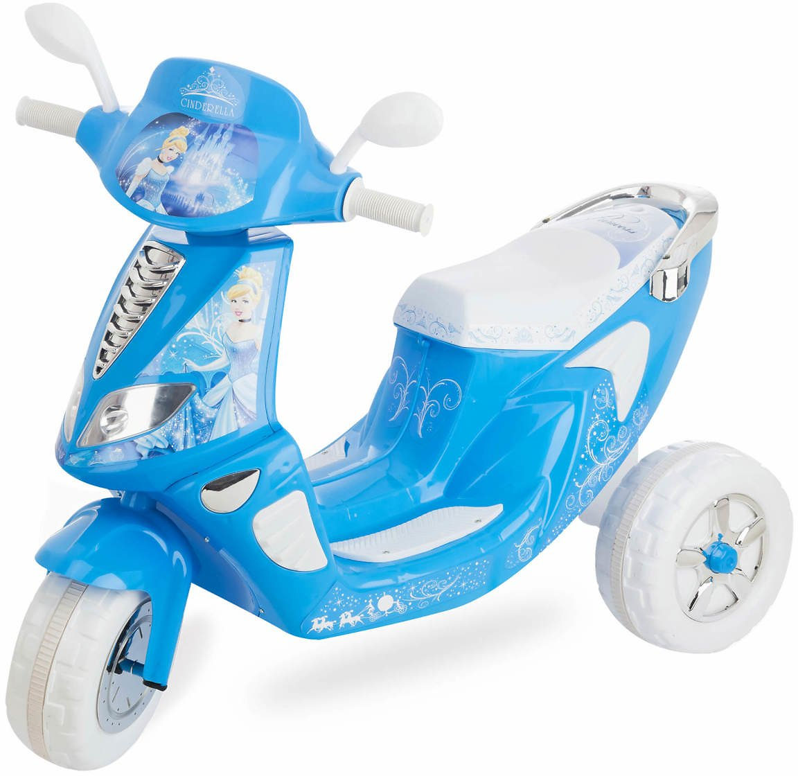 Kid Trax Cinderella Scooter + Ships Free