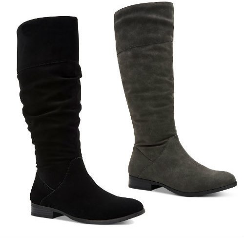 Style & Co Kelimae Scrunched Boots (2 Colors)