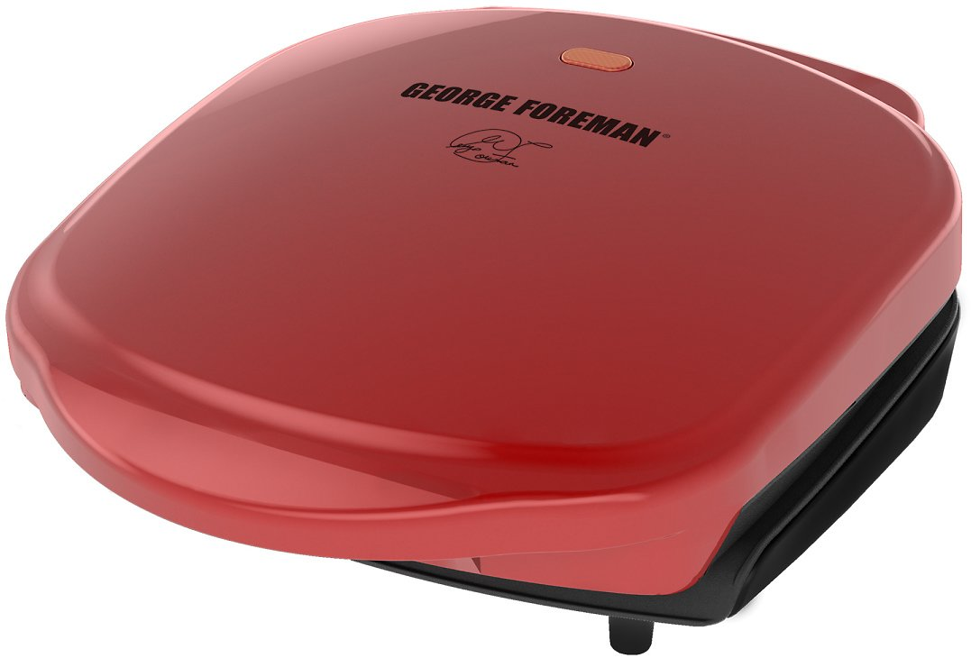 George Foreman Grill & Panini Press (Red)