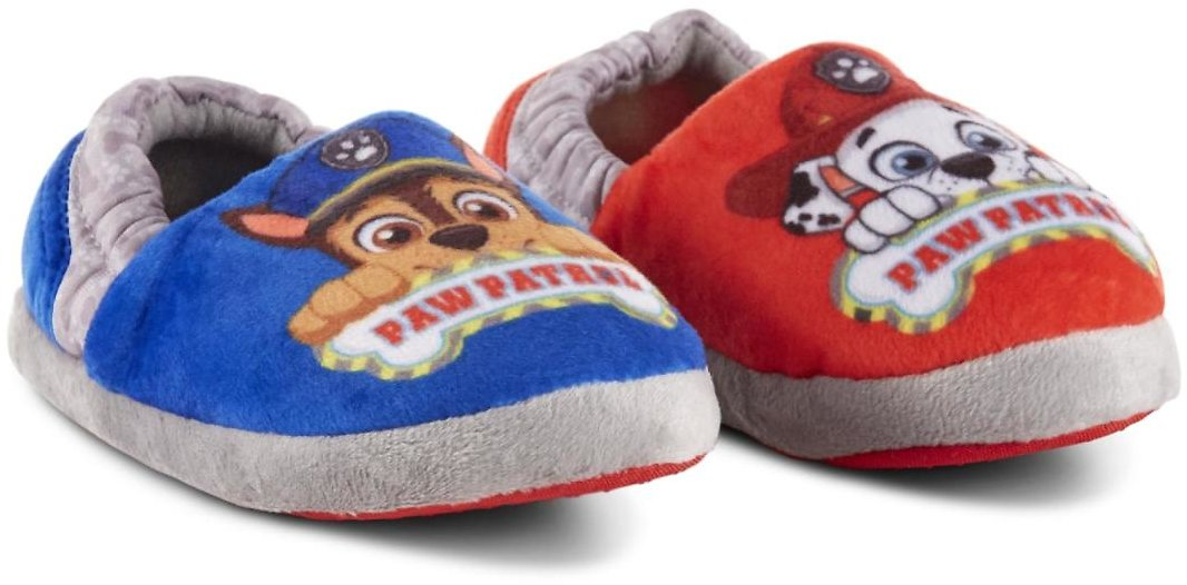 Character Toddler Boys' PAW Patrol Slippers - Blue/Red