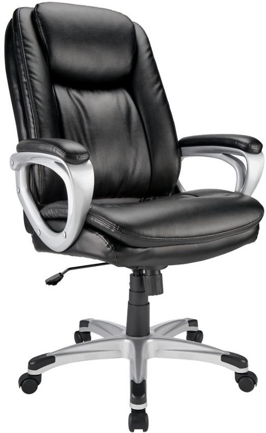 Bonded Leather High-Back Executive Chair