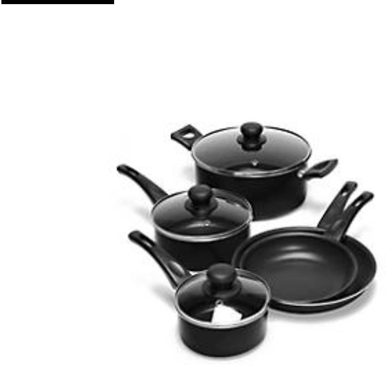 8-Piece Nonstick Cookware Set. Free shipping