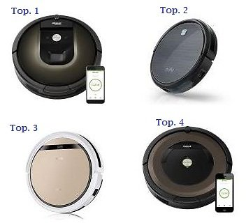 (Top 1, 2, 3, 4) Best Robotic Vacuums Available in Online