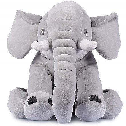 BriteNway Stuffed Elephant - Fully Fluffed
