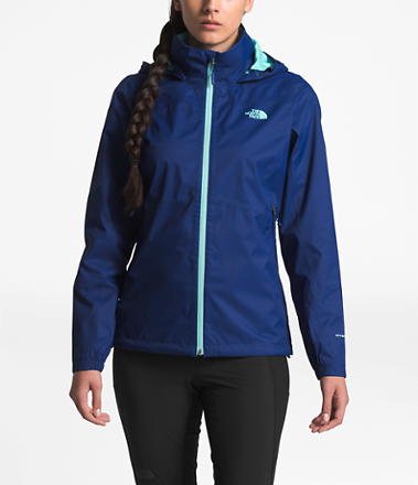 (Ships Free) The North Face Womens Resolve Plus Rain Jacket (4 Colors)