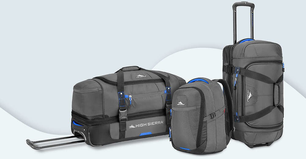 Up to 60% + Extra 30% Off High Sierra Travel Bags & More