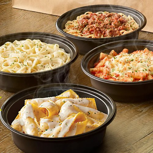 Buy One Entree Take One Home For $5