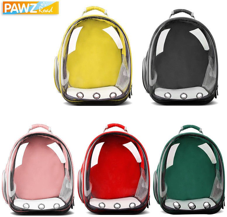 Cat Outdoor Carrier Backpack Small Dog Travel Space Capsule Shoulder Bag 5 Color