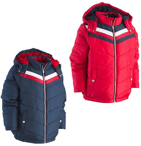 Tommy Hilfiger Toddler Boys David Hooded Puffer Jacket