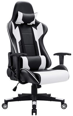 Homall Racing High Back Computer Desk Gaming Chair + F/S