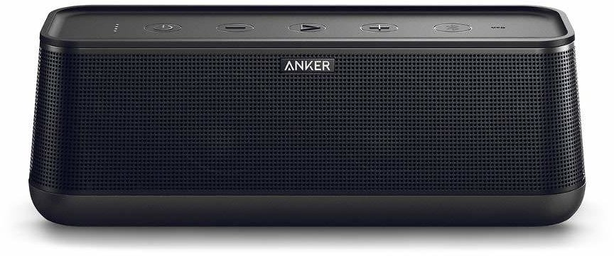 Anker SoundCore Pro+ 25W Bluetooth Speaker with Enhanced Bass and High Definition Sound, 18-Hour Playtime, Water-Resistant