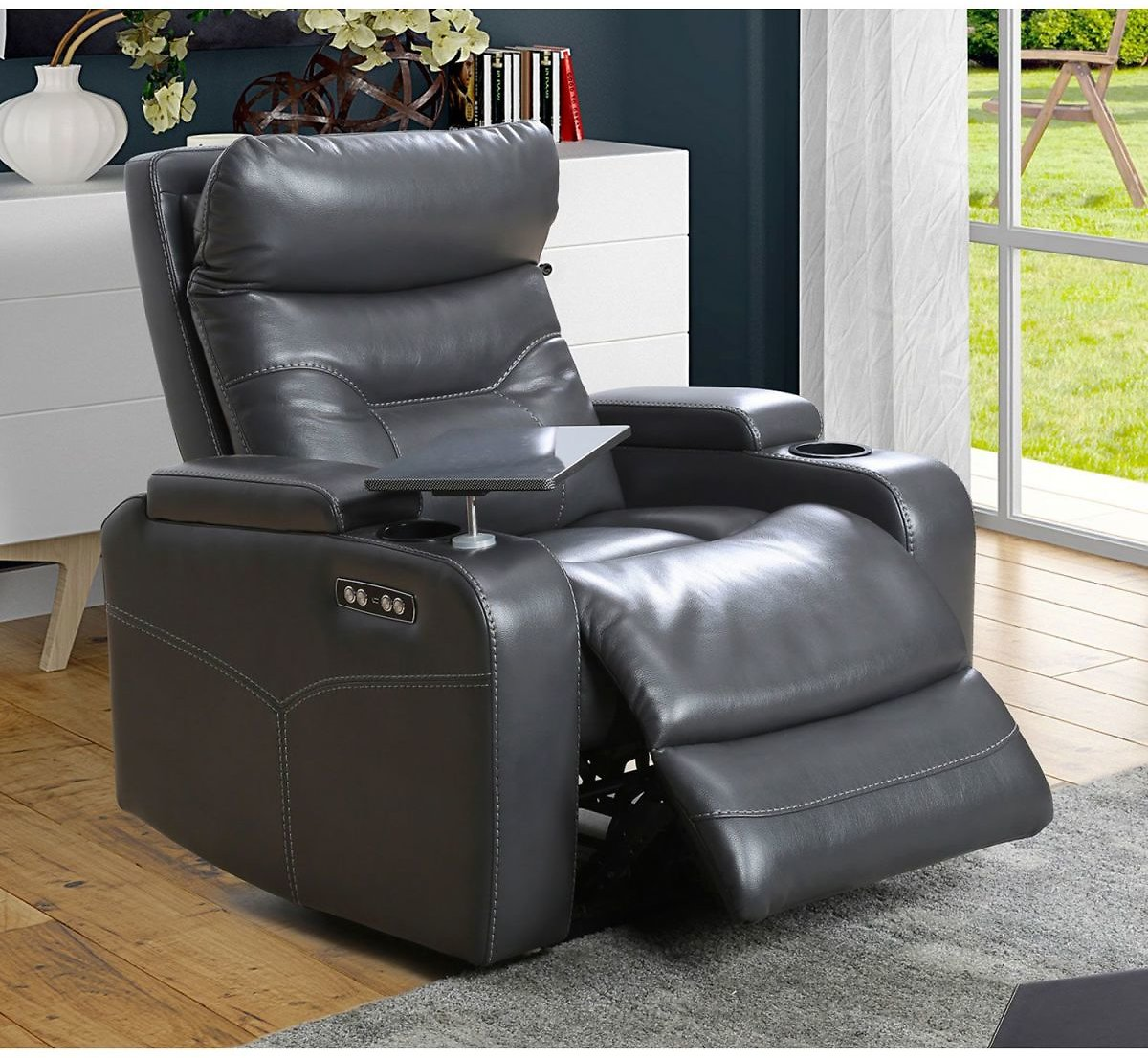 Amy Power Theater Recliner w/ Headrest (Ships Free)