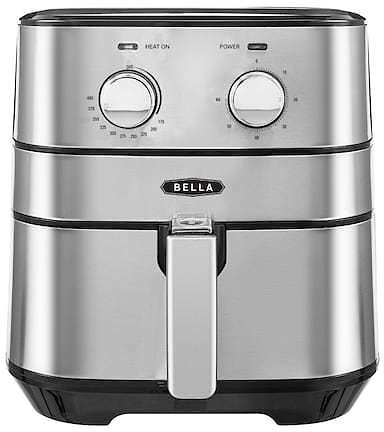 Bella 5.3-qt. Stainless Steel Air Fryer + $10 Kohl's Cash