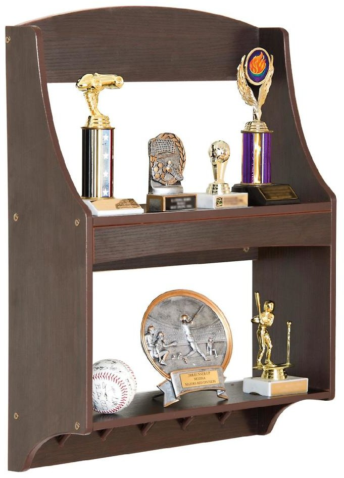 Guidecraft Expressions Trophy Rack: Espresso