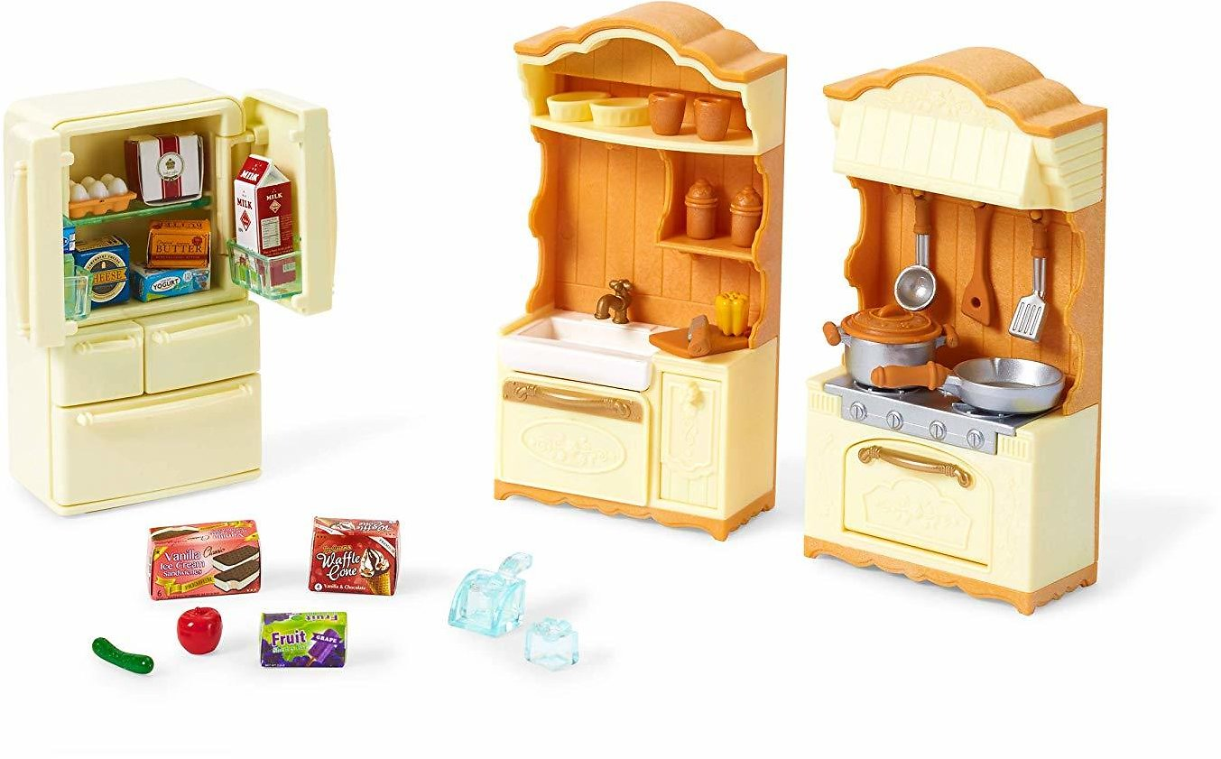Calico Critters Kitchen Play Set