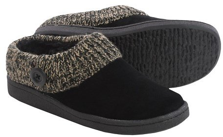 Clarks Sweater Button Clog Slippers (3 Colors)