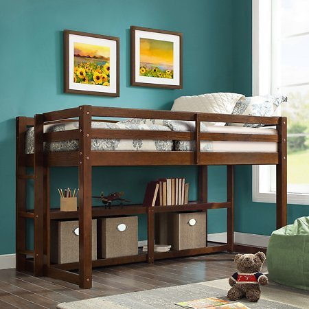 Better Homes and Gardens Loft Storage Bed (Mult. Colors)